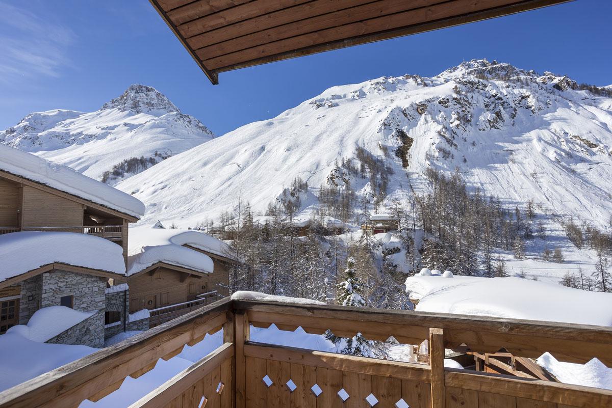Chalets du jardin Alpin - Val D'isere vue sud ouest du 334 chalet 3
