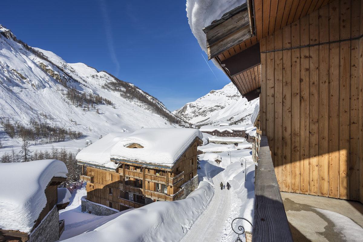 Chalets du jardin Alpin - Val D'isere vue ouest du chalet 3